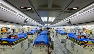 Alemanha ativa A310 para transportar pacientes infectados com Covid-19