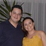 Eduardo Oliveira e Lívia Vogel, da Latam Travel