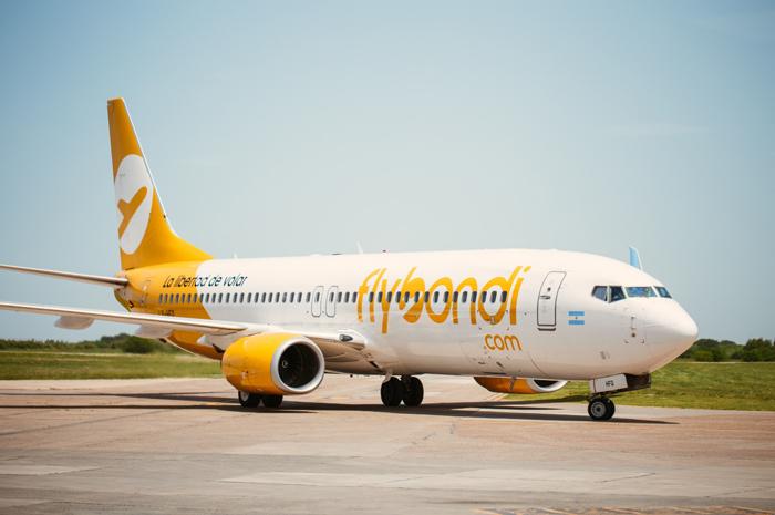 Em menos de cinco meses de operação no Brasil, os voos da Flybondi já tem mais de 85% de ocupação