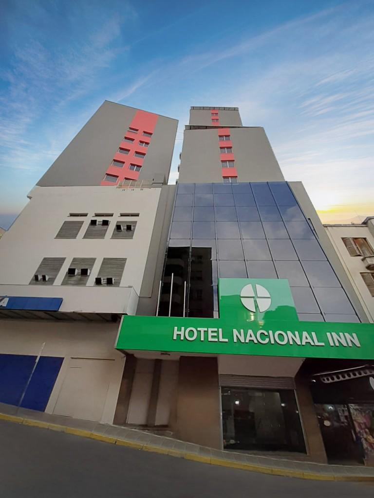 Fachada do Nacional Inn Porto Alegre