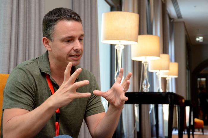 """""""Vai ser um desafio grande continuar este sucesso que a Christina conseguiu aqui"""", afirma Fabien Clerc"""