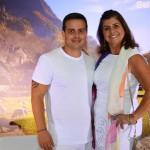 Fabio Franco, da Plantel, e Claúdia Rodrigues, da Formula Viagens