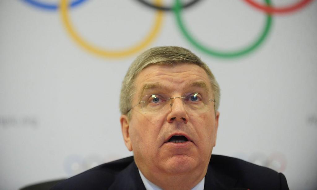 Thomas Bach, presidente do Comitê Olímpico Internacional (COI), Thomas Bach, fala sobre a oitava visita oficial de inspeção para os Jogos Rio 2016 (Fernando Frazão/Agência Brasil)