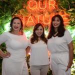 Gabriela Esteves, da Travel Workers, Giselle Torres, da Teresa Perez, e Laísa, da AG1