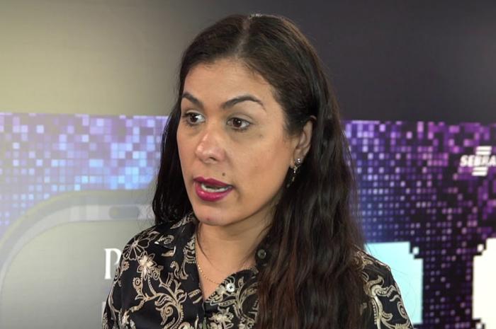 Germana Magalhães, coordenadora de Turismo do Sebrae (Reprodução Youtube)
