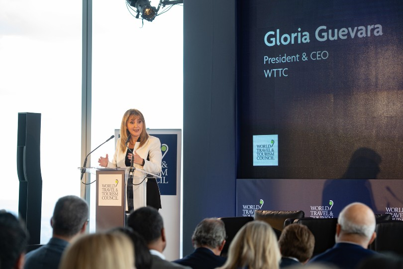 Gloria Guevara, presidente do WTTC