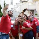 Grupo vermelho apostou na selfie