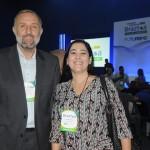 Gustavo Esusy e Alexandra Coelho, da Avianca Airlines