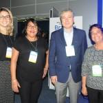 Janaina Lima, Adriana Sena, Luiz Strauss e Cristina Fritsch, da Abav-RJ