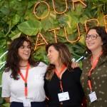 Laísa, da AG1, Giselle Torres, da Teresa Perez, e Gabriela Esteves, da Travel Workers