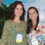 Luciana de Lamare e Kelly Faria, do Vale do Café CVB