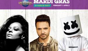 Universal Orlando revela atrações especiais para o Mardi Gras; confira