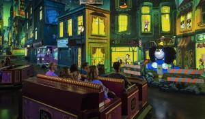 Disney revela detalhes da nova atração 'Mickey & Minnie's Runaway Railway'