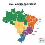 Malha emergecial do Brasil