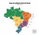 A partir deste sábado, Brasil terá apenas 1.241 voos semanais; veja as cidades atendidas