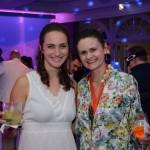 Martina Schiess, do Turismo da Suiça, e Giselle, da Visa Turismo