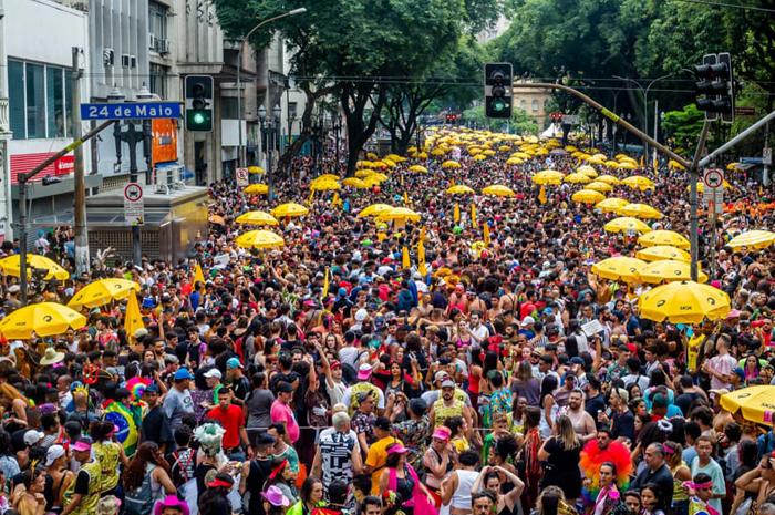 O Carnaval de São Paulo reuniu