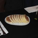 O clássico Bolo de Rolo foi um dos pratos apresentados na brincadeira da Empetur