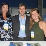 Patricia Masche, Phillipe Campelo e Andrea Revoredo, do RioCVB