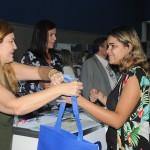 Patricia Masche e Andrea Revoredo, do RioCVB, em contato com agentes do ECB-RJ