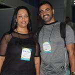 Patricia Zito, do Mundo Por Ela, e Leandro Almeida, da Guesant Turismo