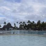 'Piscina tranquila' do Iberostar Bahia, onde familias e crianças se divertem juntas