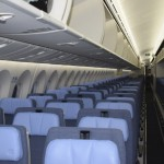 Poltronas de classe econômica da Air Europa