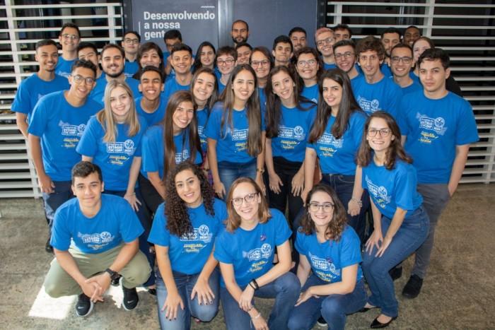 Os 40 jovens profissionais selecionados para trabalhar no primeiro Programa de Estágio da CVC Corp