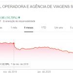 Ações de empresas brasileiras despencaram