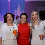 Raquel Batista, da Ativa Turismo, Fernanda Maldonado, do Turismo da Suíça, e Thaís Moura, da Love And Travel