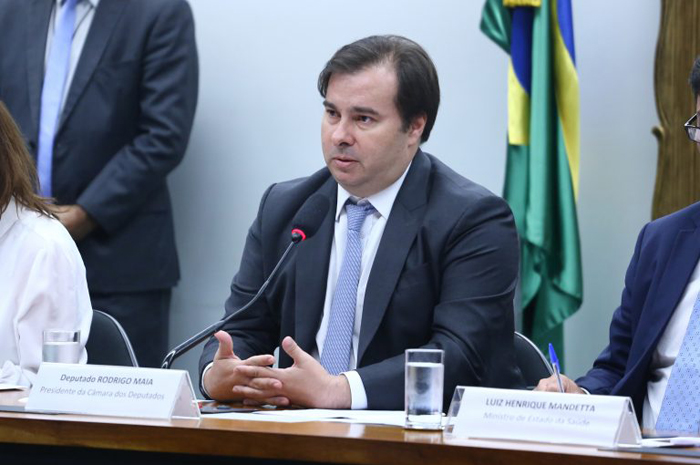 Rodrigo Maia, presidente da Câmara dos Deputados (Foto: Vinicius Lourdes - Câmara dos Deputados)