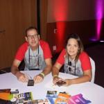 Romolo Marcos de Resende Barros; e Luciana Santiago, da Luma Turismo