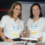 Sandra Passetto e Ana Lucia Gomes, da Air Canada