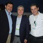 Sergio Ricardo, da Setur-RJ, Luiz Strauss, da Abav-RJ, e Christiano Nogueira, da Turisrio
