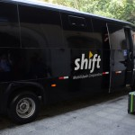 Shift foi a transportadora oficial do evento