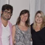Thiago Zanolli e Bárbara Farga, da Aurora Eco; e Jamila Garavito, da Iberostar