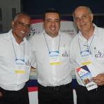 Walter Braga, Anderson Marques e Sergio Leonetti, da GTA