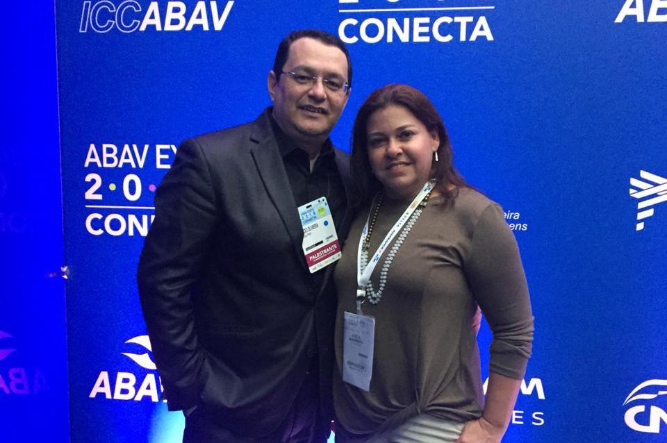 Lucio Oliveira e Gisela Maranhão, da 4C Solution