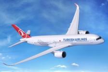 Turkish escala A350-900 para suas operações no Brasil