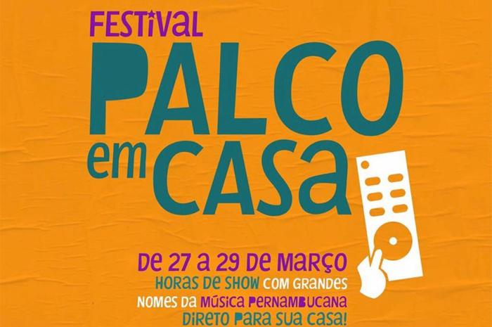Apresentações online acontecem neste fim de semana, no canal oficial do turismo de Pernambuco no Instagram
