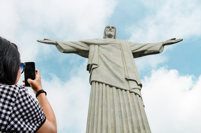 Cristo Redentor, Parque Nacional da Tijuca - Rio de Janeiro, Brasil