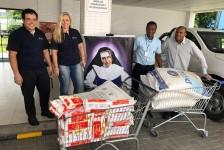 GJP doa três toneladas de alimentos para oito entidades no Brasil