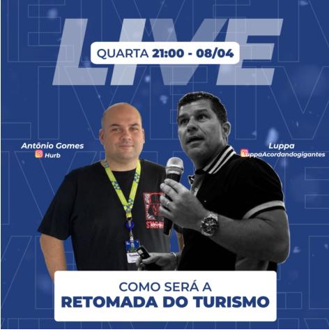 Live acontece às 21 horas desta quarta-feira (08)