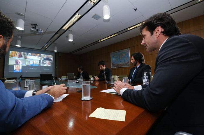 Videoconferência entre Marcelo Álvaro e promotores de eventos aconteceu na última quarta (15)