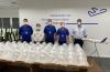 Latam entrega primeiro lote de protetores faciais contra Covid-19 para hospitais