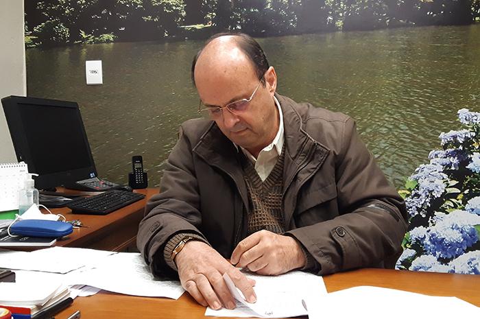 Fedoca Bertolucci, prefeito de Gramado (Foto Divulgação)