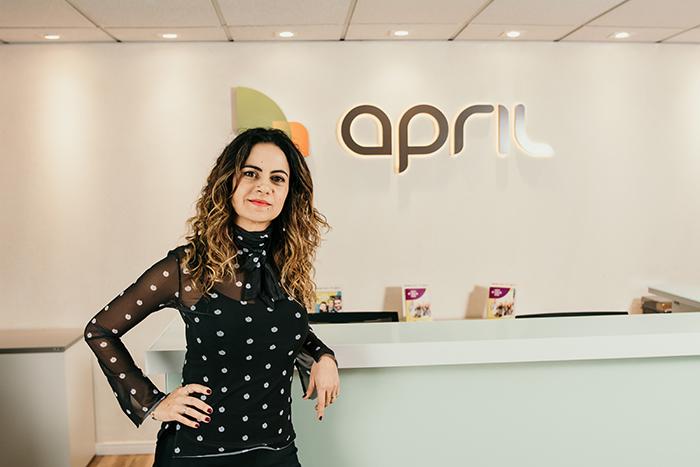 Taís Mahalem, Head de Marketing e Digital da APRIL