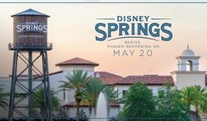 Disney revela regras e detalhes da reabertura do Disney Springs nesta quarta (20)