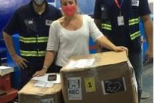 Latam transporta máscaras e sabonetes para aldeia indígena em Pernambuco