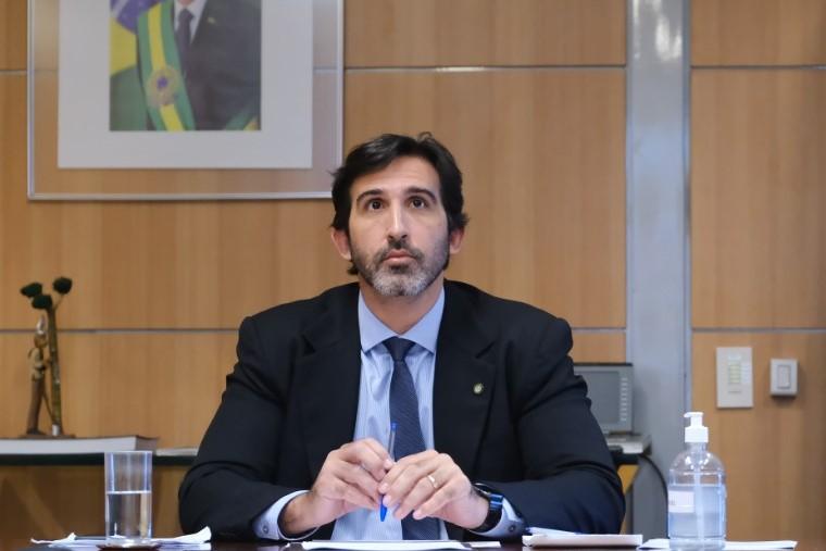 Lucas Fiuza, secretário Nacional de Atração de Investimentos, Parcerias e Concessões do Ministério do Turismo